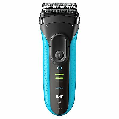 Braun Series 3 ProSkin 3040s Cordless Wet & Dry Rechargeable Shaver