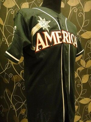 Bnwt American All Star Game Seattle 2001 Ichiro Mariners 51 Jersey / Shirt Mlb