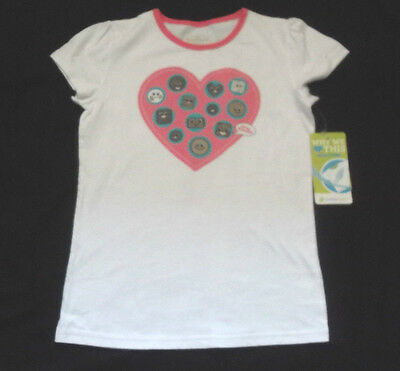 Please Mum White Valentine's Day T-Shirt Kids Size Xl - 10/12 Nwt