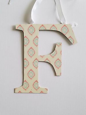 NWT Pottery Barn Kids Die-Cut Printed Letter - F
