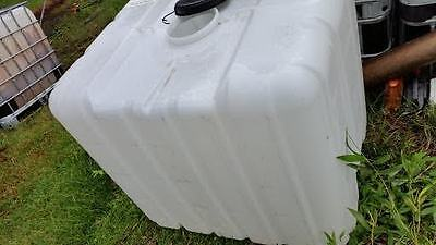 IBC TANK fire water farm 1000 lt pump portable tank garden