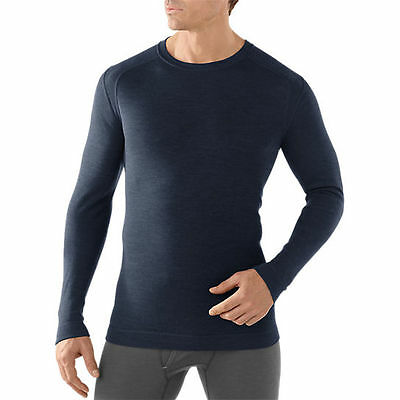 Smartwool NTS MID 250 Crew Top, Mens Shirt, Deep Navy, S