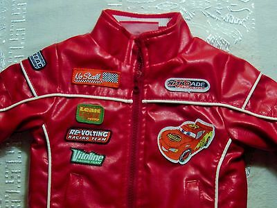 Baby faux leather Jacket Disney Cars Lightning McQueen WARM