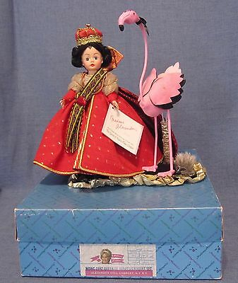 """10"""" Queen of Hearts Plays Croquet Set 1992 with decorated stand"""