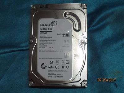TESTED 2000 GB 2 TB Seagate ST2000DM001 3.5 inch hard drive 7200 RPM 1CH164-301