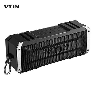VTIN Portable Wireless Bluetooth 4.0 Speaker 20W Outputfrom Dual 10W Drivers Out