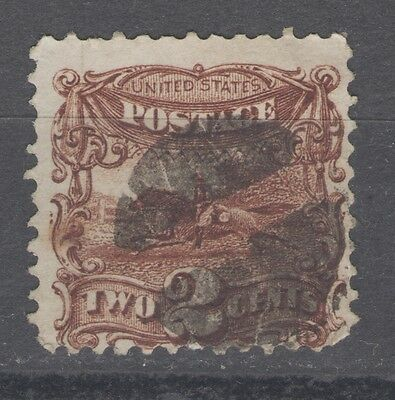 Stamps  Us #113 2-Cent Brown