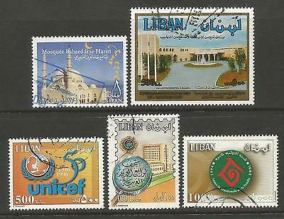 Lebanon. Scan Of Used Stamps