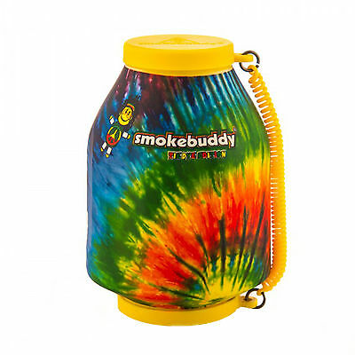 Smoke Buddy Personal Air Purifier Cleaner Filter Removes Odor - Tie Dye Yellow