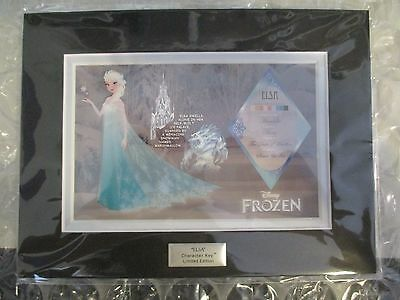 NEW Disney Frozen Hot Topic Variant Character Key Cel Limited Edition