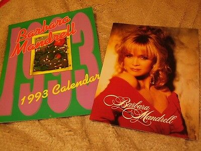 Barbara Mandrell *Gorgeous 1993 Calendar With Great Images & 1993 Tour Book!