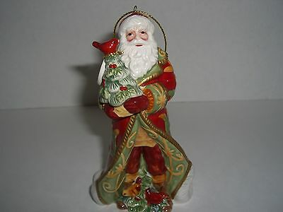 "2008 Fitz and Floyd ""BELLACARA"" SANTA BELL 63/431"