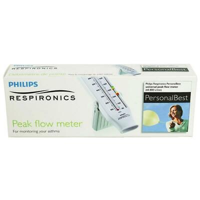 Philips Respironics Personal Best Peak Flow Meter Full Range (Asthma)