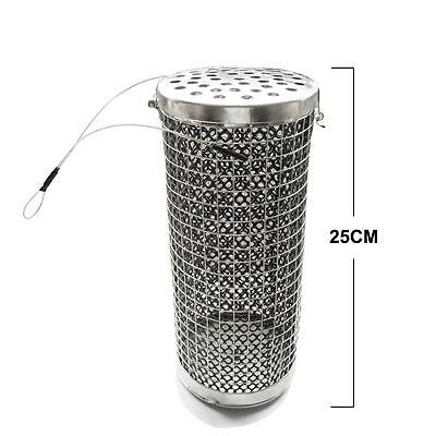 Stainless Steel Weighted Fishing Wire Berley Cage M, Fishing Tackle Speical