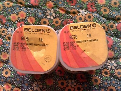 Belden 8076 20 AWG 1 LB Heavy Armored Poly-Thermalize