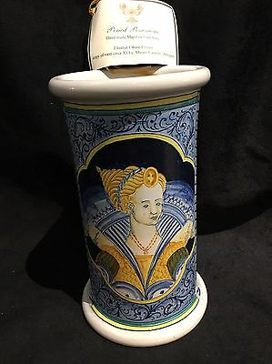 Period Possessions Majolica From Italy Castelli Wine Cooler Repro Elisabet 1