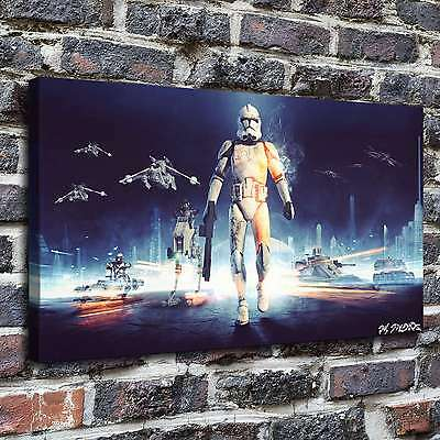 """12""""x22""""Wpid star wars Paintings HD Print on Canvas Home Decor Wall Art Pictures"""
