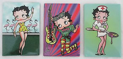 Betty Boop Magnets.1998 King Features Syndicate Inc/Fleischer Studios Inc.BB98-2