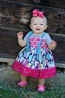 Lot, wholesale 100 handmade new with tags boutique childrens clothing dresses,
