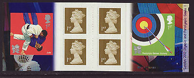 Great Britain 2010 MNH - London Olympic Games 2012 - 1st booklet, 6 stamps