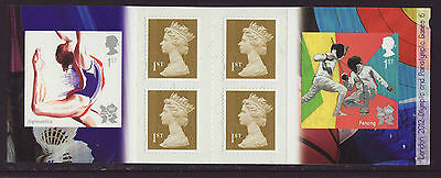 Great Britain 2011 MNH - London Olympic Games 2012 - 6th booklet, 6 stamps