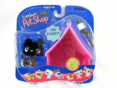 Bnib Littlest Pet Shop Dog With Marshmallow And House #315