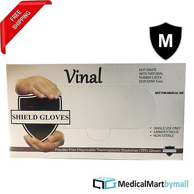 200 Glove Food Service Vinal Powder Free Gloves (Non Latex Vinyl Exam) Medium