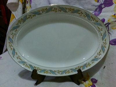 "Large ~ Harmony House ""Arlington"" Oval Serving Dish ~ Made by Hall China"