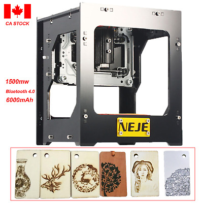 NEJE DK-BL 1500mw Mini Automatic Laser Engraving Machine Engraver Carver DIY CA