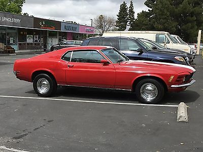 1970 Ford Mustang  1970 mustang fastback