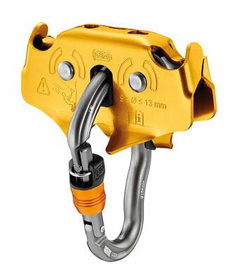 PETZL TRAC PLUS -  Drop-proof pulley for long Tyrolean traverses