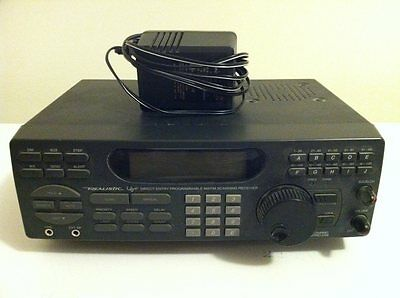 Realistic PRO 2036 - 200 Channel Radio Homebase Scanner VHF UHF - NO MANUAL -