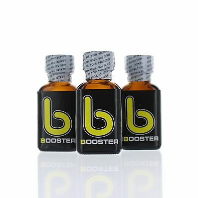 Poppers Booster 25 ml Neuf Lot de 3