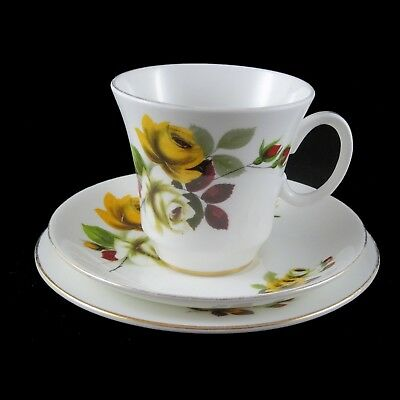 Vintage Royal Grafton Trios -teacup saucer plate fine bone China Made in England