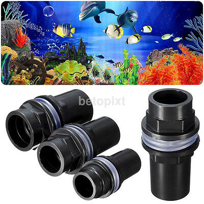 HOT Outflow Inflow Straight Water Pipe Connector For Fish Tank Aquarium Filter F