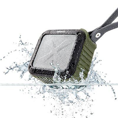 Portable Outdoor and Shower Bluetooth 4.1 Speaker w 10 Hours Battery Life