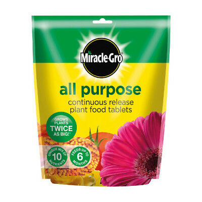 Scotts Miracle Gro All Purpose Continuous Release Plant Food Tablets 25
