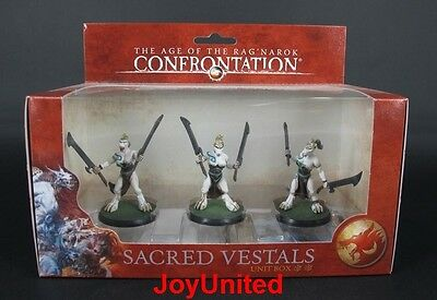 RACKHAM CONFRONTATION Wolfen of Yllia Sacred Vestals Unit Box Game Figure WFEL04