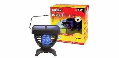 Gotcha Portable Solar Powered Insect Killer STV590 - Indoor/Outdoor