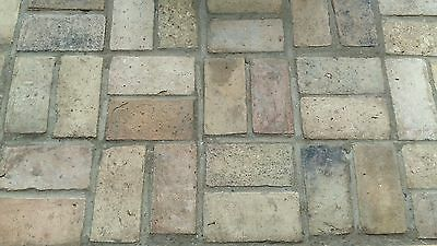 Reclaimed Victorian floor tile / bricks / pamment