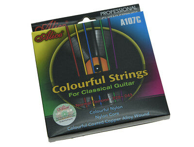 Alice Colorful Nylon Classical Guitar String Nylon Coated Copper Alloy Wound