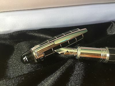 Montblanc Starwalker Metal And Rubber Fountain Pen