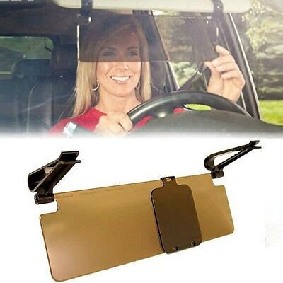 Car Anti-Glare Sun Shade Dazzle Blocker Visor Mirror View Day Night Driving