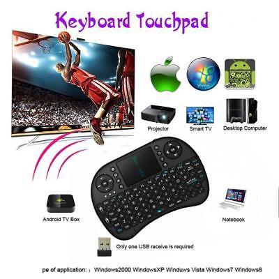 Mini teclado inalámbrico WIRELESS 2.4G + TOUCHPAD HANDHELD KEYBOARD para PC