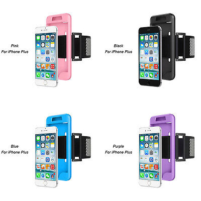 Sports Armband Case Phone Holder Gym Jogging For iPhone 7 Plus Compact