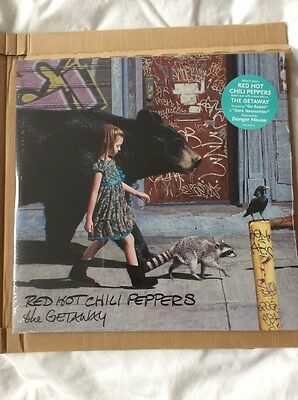 """Red Hot Chili Peppers """"the Getaway"""" 2 X Vinyl Lp"""" New And Sealed"""