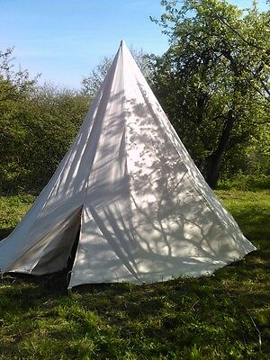 Historical cone tent. Cotton.  Medieval -+