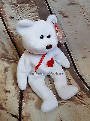Pre-Owned TY Beanie Baby VALENTINO February 14 1994 Mint with Tag Brown Nose 108