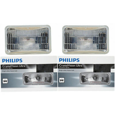 Philips Low Beam Headlight Light Bulb - 1975-1990 Oldsmobile 98 Calais rf