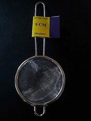 Wholesale Bulk Lot of 8cm Kitchen Strainer or Tea Sieve x 48. **FREE PICK UP**